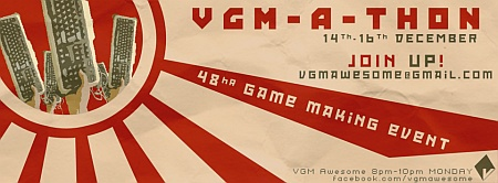 VGM-a-thon community video game making event in Bradley Stoke.