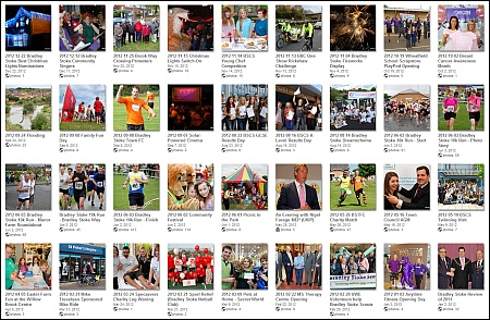 Photos of Bradley Stoke events during 2012.