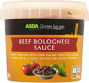 Asda 'Chosen by You' Beef Bolognese Sauce.