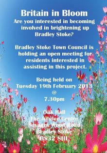 Britain in Bloom meeting in Bradley Stoke.