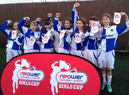 Bradley Stoke Community School - south west round winners.