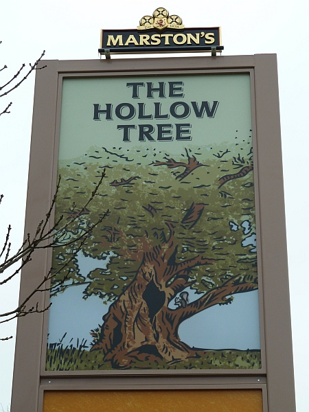 The Hollow Tree pub, Bradley Stoke, Bristol.