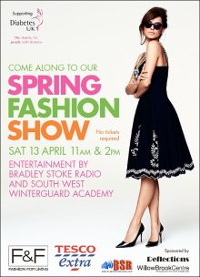 Spring Fashion Show at the Willow Brook Centre.