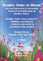 Bradley Stoke in Bloom meeting on 16th April 2013.