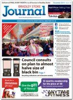 December 2015 edition of the Bradley Stoke Journal news magazine.