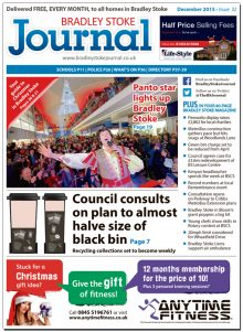December 2015 edition of the Bradley Stoke Journal news magazine.