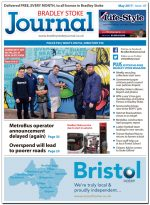 May 2017 issue of the Bradley Stoke Journal news magazine.