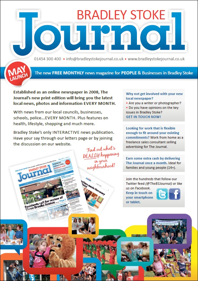 The Bradley Stoke Journal monthly newspaper.