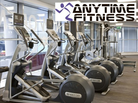 Anytime Fitness 24-hour gym, Bradley Stoke, Bristol.