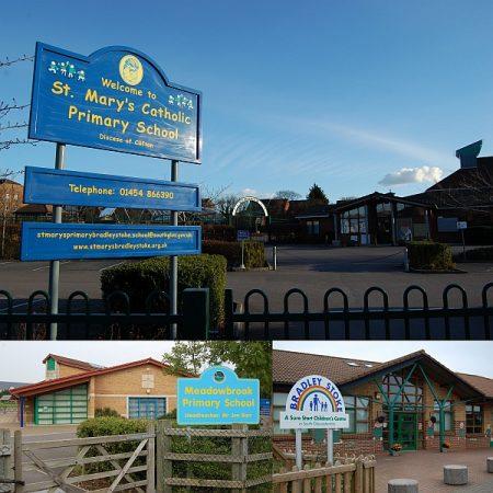 Primary schools in Bradley Stoke.