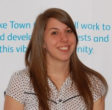 Cllr Charlotte Walker of Bradley Stoke Town Council.
