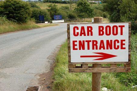 Trench Lane Car Boot Sale, near Bradley Stoke, Bristol.