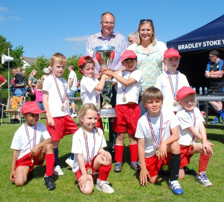 BSYFC Schools' Football Festival 2013.