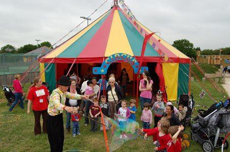 Bradley Stoke Community Festival Picnic in the Park.