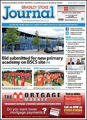 June 2013 edition of the Bradley Stoke Journal magazine.