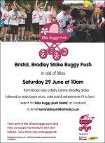 Bristol (Bradley Stoke) Buggy Push for Bliss.