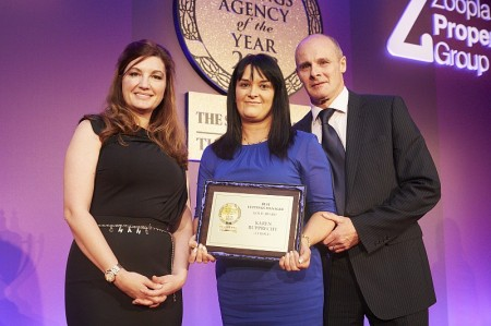 Karen Rupprecht, Lettings Branch Manager of the Year.