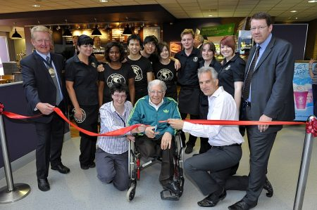 Official opening of the new SOHO Coffee Co. outlet in Bradley Stoke.