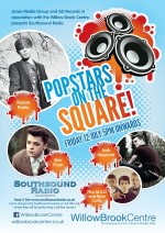 Popstars on the Square event at the Willow Brook Centre, Bradley Stoke.