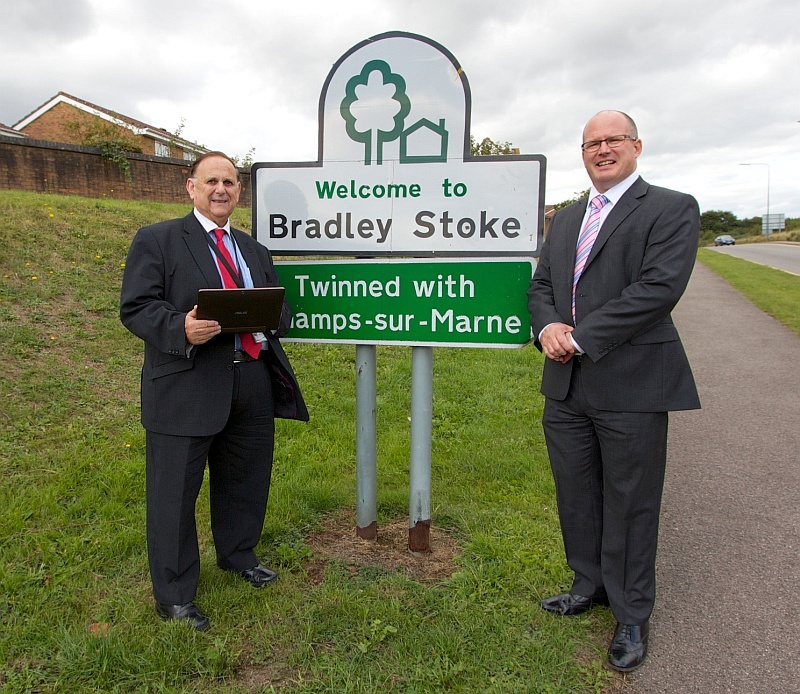 Superfast broadband is promised for Bradley Stoke by summer 2014.