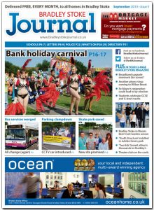 September 2013 edition of the Bradley Stoke Journal magazine.
