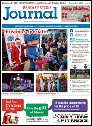December 2013 edition of the Bradley Stoke Journal magazine.
