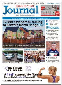 January 2014 edition of the Bradley Stoke Journal magazine.