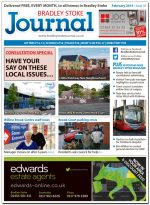 February 2014 edition of the Bradley Stoke Journal magazine.