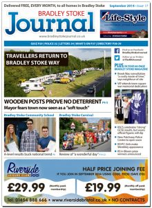 September 2014 edition of the Bradley Stoke Journal magazine.