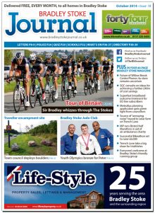 October 2014 edition of the Bradley Stoke Journal magazine.
