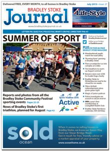 July 2015 edition of the Bradley Stoke Journal magazine.