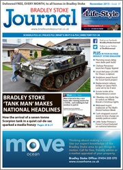 November 2015 edition of the Bradley Stoke Journal magazine.