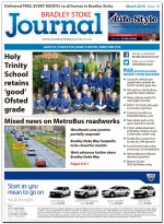 March 2016 edition of the Bradley Stoke Journal news magazine.