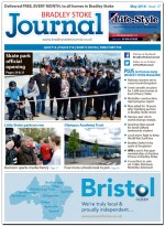 May 2016 edition of the Bradley Stoke Journal news magazine.