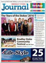 June 2016 edition of the Bradley Stoke Journal news magazine.