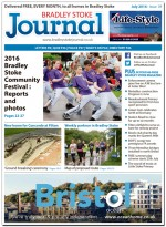 July 2016 edition of the Bradley Stoke Journal news magazine.