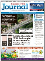 August 2016 edition of the Bradley Stoke Journal news magazine.