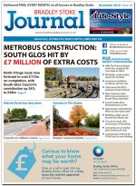 November 2016 edition of the Bradley Stoke Journal news magazine.