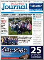 April 2017 issue of the Bradley Stoke Journal news magazine.