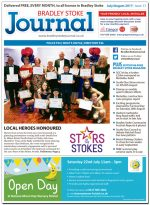 July/August 2017 issue of the Bradley Stoke Journal news magazine.
