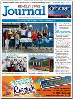 September 2017 issue of the Bradley Stoke Journal news magazine.