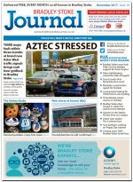 November 2017 issue of the Bradley Stoke Journal news magazine.