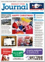 December 2017 issue of the Bradley Stoke Journal news magazine.