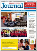 February 2018 issue of the Bradley Stoke Journal news magazine.