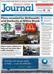 March 2018 issue of the Bradley Stoke Journal magazine.