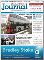 May 2018 issue of the Bradley Stoke Journal news magazine.