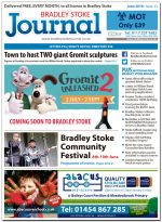 June 2018 issue of the Bradley Stoke Journal news magazine.