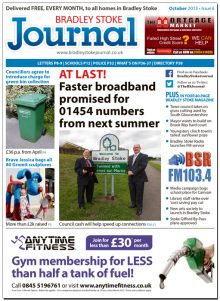October 2013 edition of the Bradley Stoke Journal magazine.