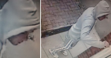 Man sought by police in connection with Great Meadow Road burglary.