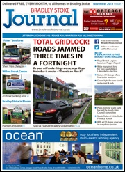 November 2013 edition of the Bradley Stoke Journal magazine.